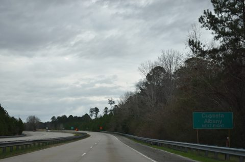 I-185 north at US 27-280/SR 520 - Columbus, GA