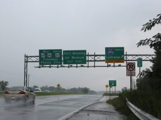 US 27-280/SR 520 west at I-185 - 2003