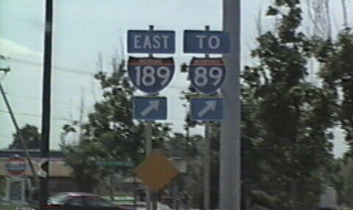 US 7 south at I-189 - 1995