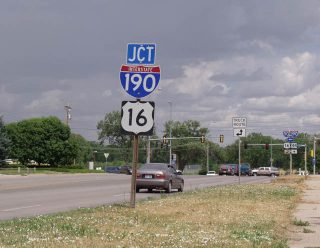 SD 44 east at I-190/US 16 - 2002