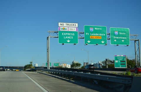 SR 112/Airport Expwy east at I-95/195 - Miami, FL