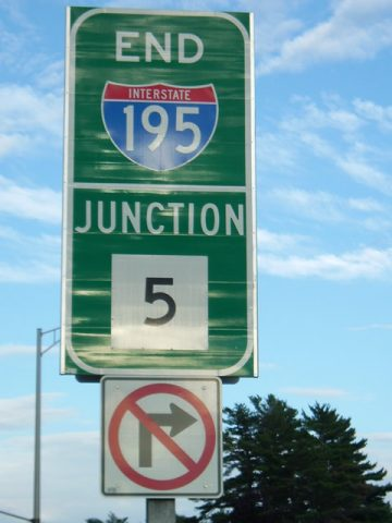 I-195 east at Route 5 - Old Orchard Beach, ME