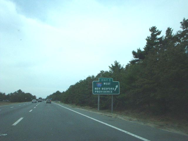 Route 25 west at I-195/495 - 2002
