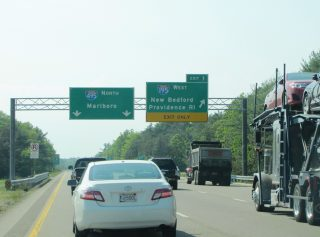 Route 25 west at I-195/495 - Wareham, MA