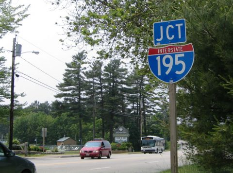 Route 5 north at I-195 - Old Orchard Beach, ME