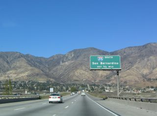 I-15 north at I-215 - 2004
