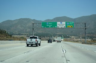 I-15 north at I-215 - Devore, CA