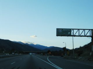 I-215 north at I-15 - 2004