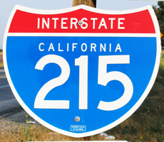 Interstate 215 California