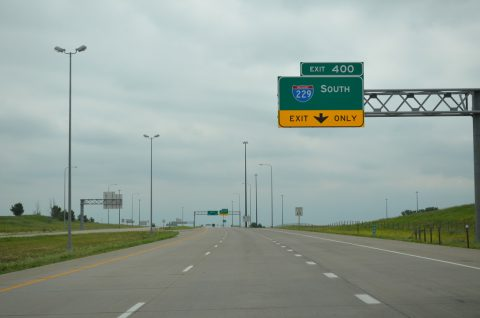 I-90 east at I-229 - Sioux Falls, SD