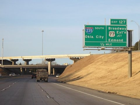 I-44 west at I-235/US 77 - 2005