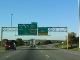 I-135/US 81/K-15 north at I-235/K-96/254 - 2003