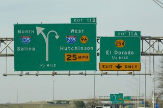 I-135/US 81/K-15 north at I-235/K-96/254 - 2005