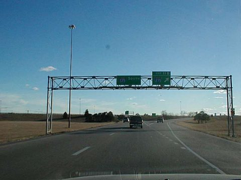 I-135/US 81/K-15 south at I-235/K-96-254 - 2002