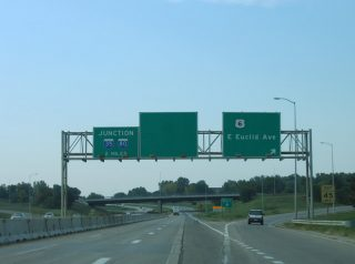 I-235 east at US 6 - 2005
