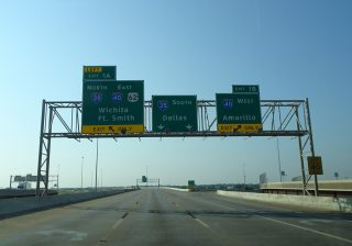 I-235/US 77 south at I-35/40 - Oklahoma City, OK