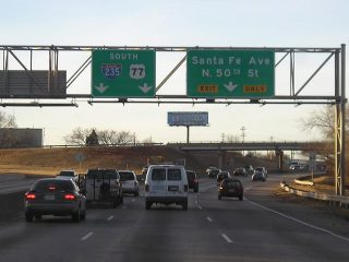 I-235 south at I-44/N 50th St - 2005