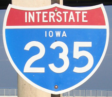 Interstate 235 Iowa