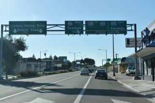 Foothill Blvd north - Hayward, CA