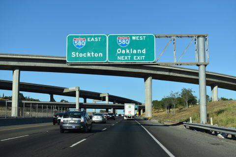 I-238 south at I-580