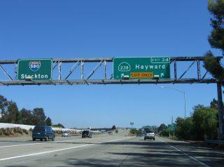 I-580 east at I-238 - 2006