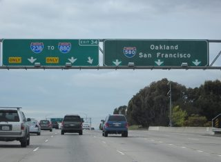 I-580 west at I-238