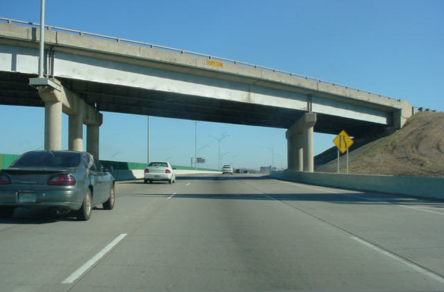 I-44/SH 66 east at I-244/US 412 - Tulsa, OK