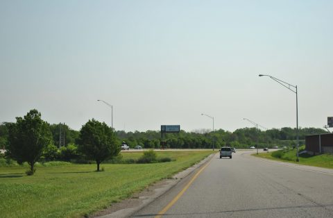 I-244/US 412 east at I-44/SH 66 - Tulsa, OK