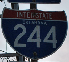Interstate 244 Oklahoma