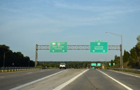 KY 841 east at I-65/265 - Louisville, KY