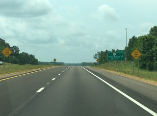 I-269 south at MS 302 - 2016