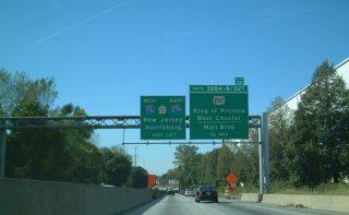 I-76 west at US 202/I-276 - 2001