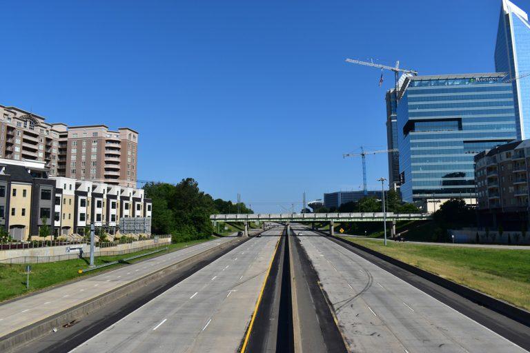 I-277 at South Blvd - Charlotte, NC
