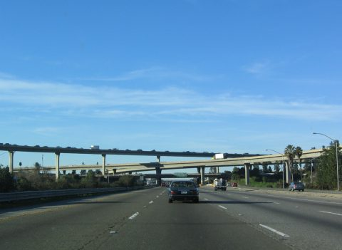 US 101 north at I-280/680