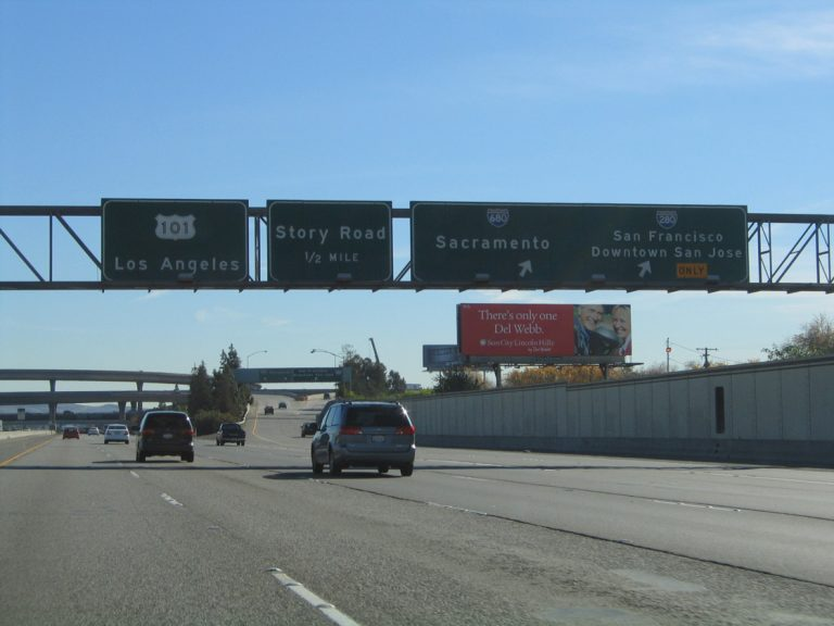 US 101 south at I-280/680 - 2004