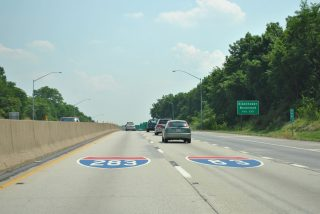 I-83/283 Painted Shields