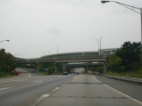 US 322 west at I-83/283 - Lawnton, PA