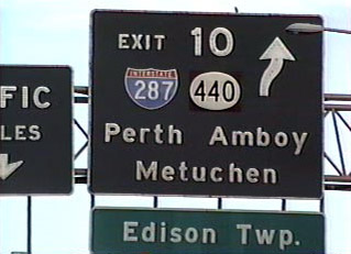 I-95 north at I-287/NJ 440 - 1998