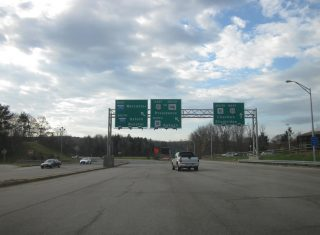I-90/Mass Pike at I-295/390 - Auburn, MA