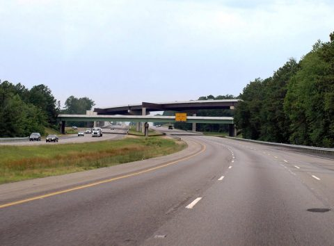 I-64 east at I-295 - Short Pump, VA
