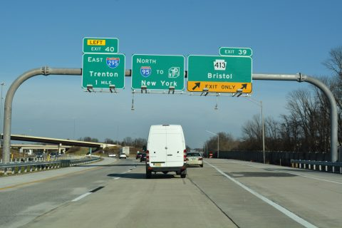 I-95 north at PA 413