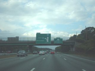 I-95 north at I-295 - 2001
