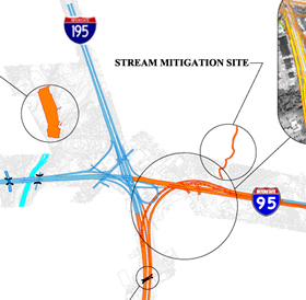 2013 I-95 Stage Map - Trenton, NJ