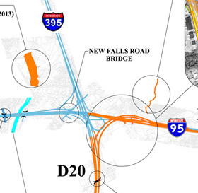 2014 I-95 Stage Map - Trenton, NJ