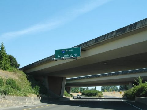 Salem Pkwy north at I-5 - Keizer, OR