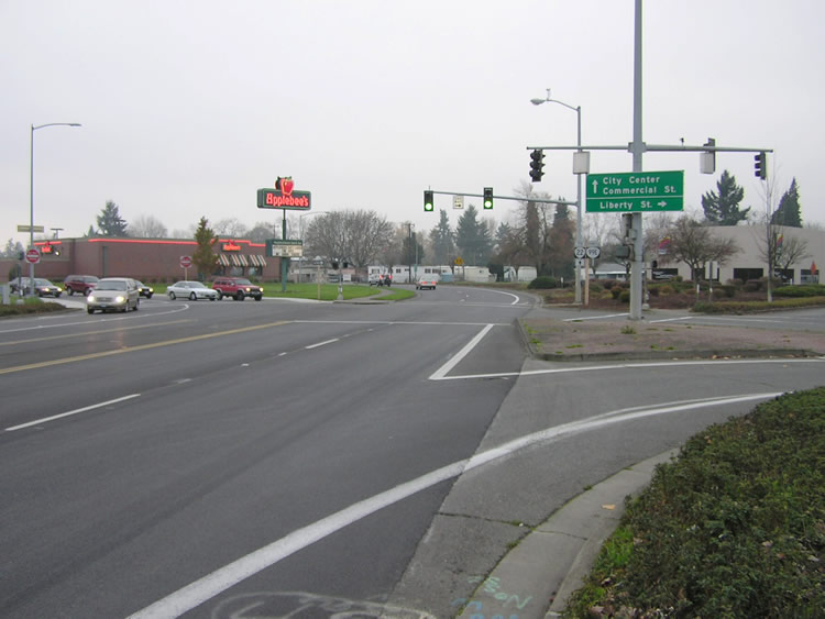 Salem Pkwy south at Liberty St - Salem, OR