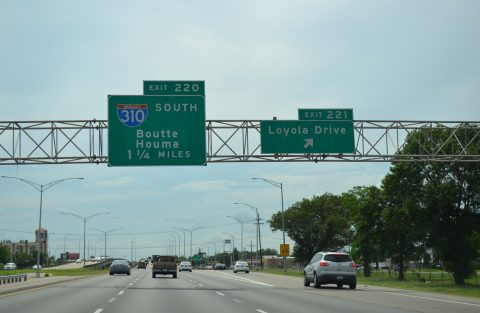 I-310 west at I-10 - Kenner, LA