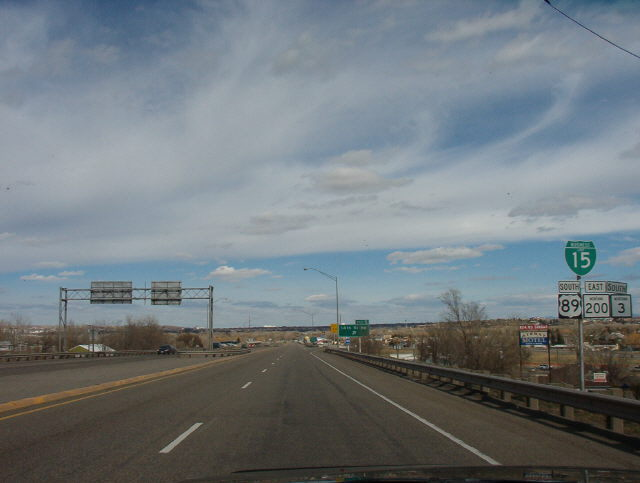 I-315/US 89/MT 3-200 east at I-15 - Great Falls