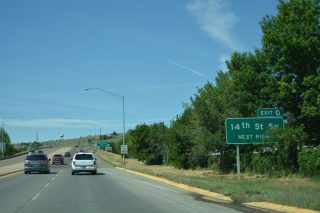 I-315/US 89/MT 3-200 west at 14th St SW - Great Falls