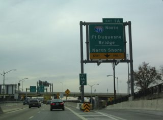 I-376/Parkway East at I-279 - 2004
